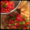 #homemade #ChickenALaKing #CucinaDelloZio - the peppers