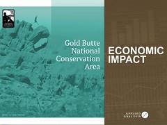 Gold Butte Economic Impact Study http://www.outsidelasvegas.org/gold-butte-economic-analysis @appliedanalysis @OutsideLasVegas @goldbutte @GoMesquiteNV