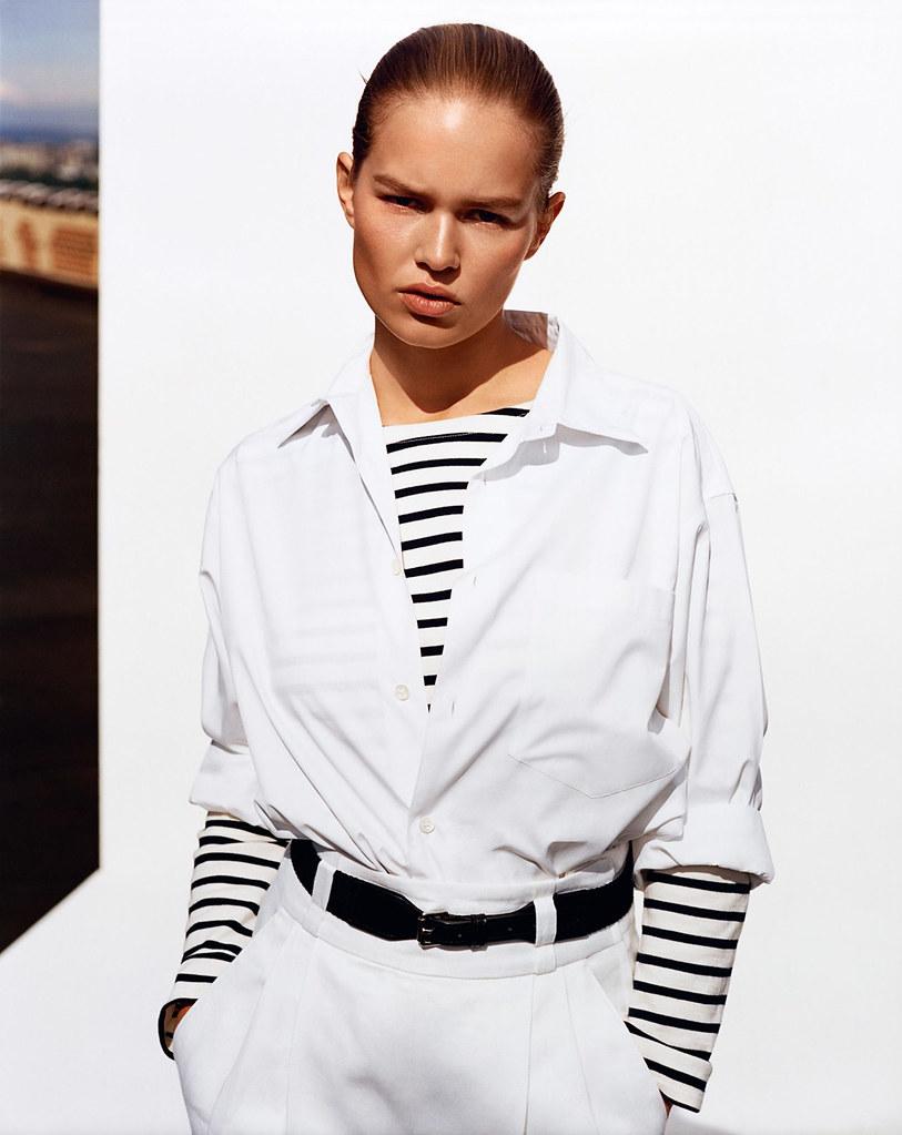 Анна Эверс — Фотосессия для «Vogue» UK 2015 – 4