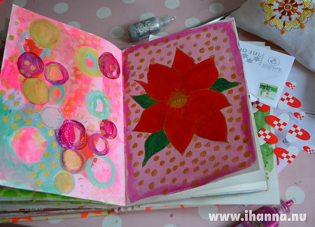 Art Journal Peek: Season Greetings
