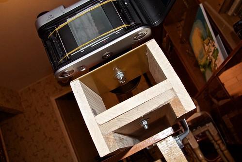 Оптическая скамья для настройки фототехники: крепление камеры и Н-образной штуки