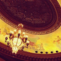 Looking up and enjoying the music #vso #orpheum