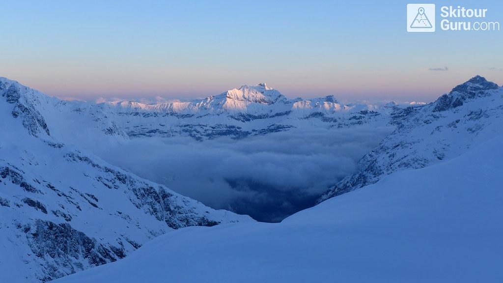 Beautifull morning near by Trifthütte, Diechterhorn, Urner Alpen:http://skitourguru.com/oblast/23-urner-alpen, Switzerland