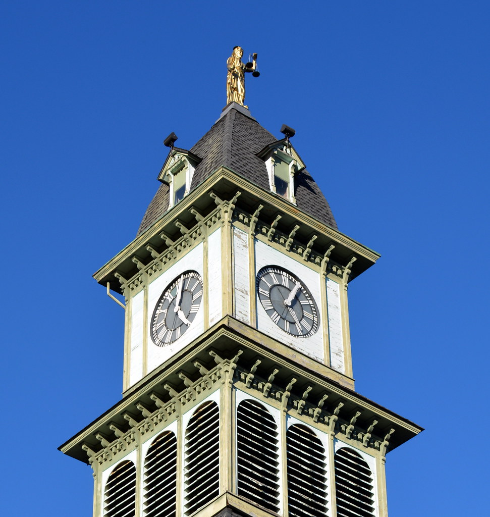 Pleasing Potter County Courthouse Tower Coudersport Pennsylavani Download Free Architecture Designs Rallybritishbridgeorg