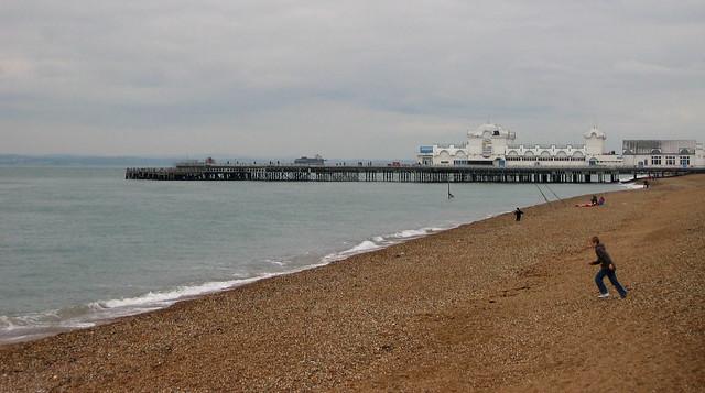 Southsea Pier and beach