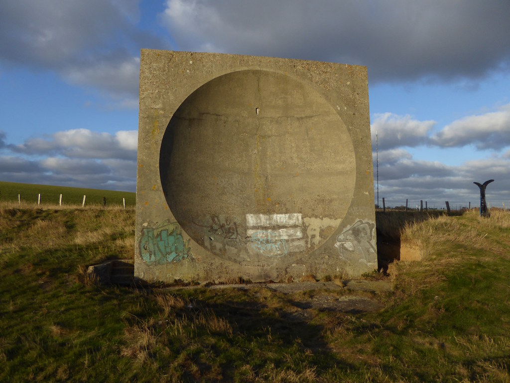 World War II sound mirror Folkestone to Dover walk