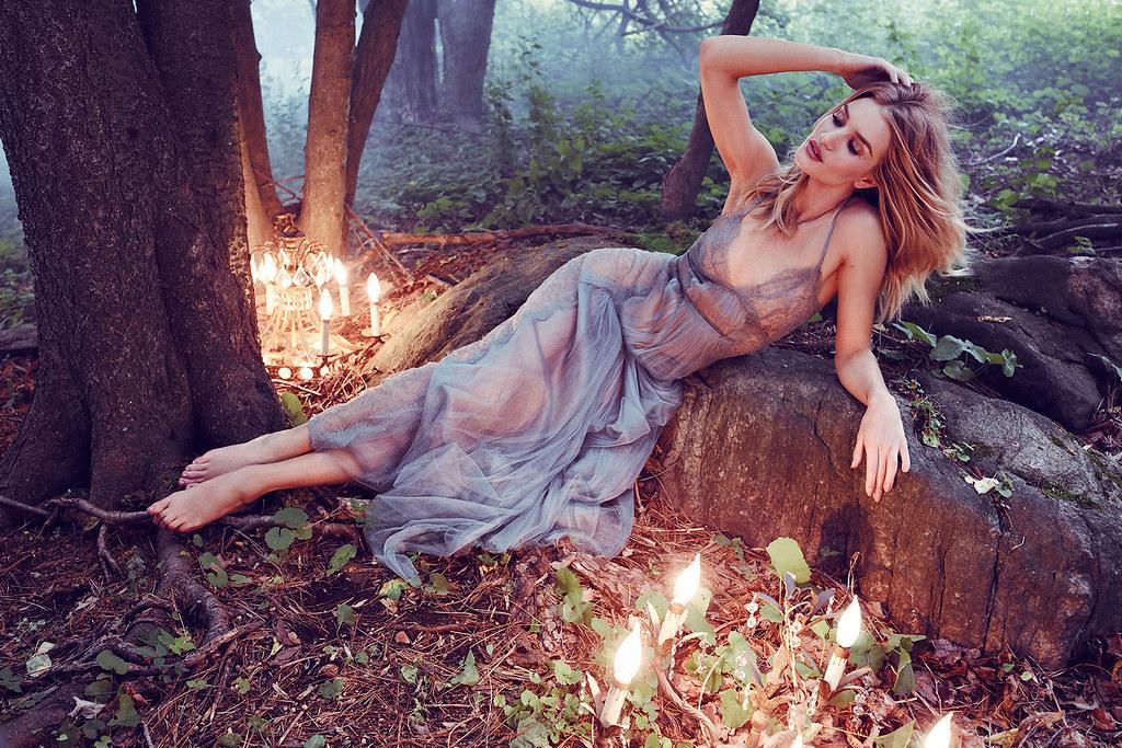 Роузи Хантингтон-Уайтли — Фотосессия для «Harper's Bazaar» UK 2016 – 1