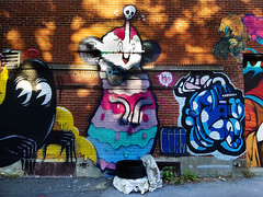 Graffiti Métro Beaubien, Montreal 2016