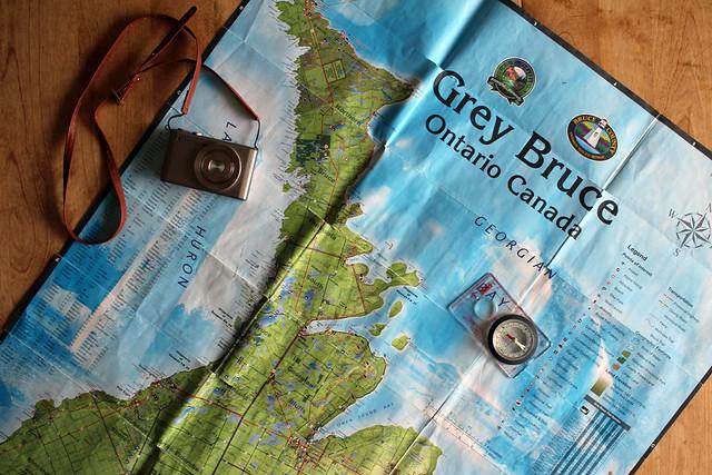 Bruce Pen Map