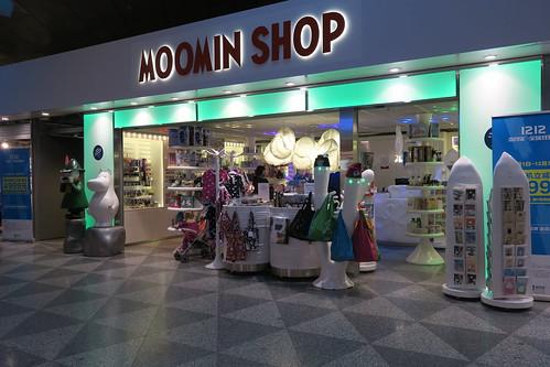 Moomin Shop, Helsinki Airport T2