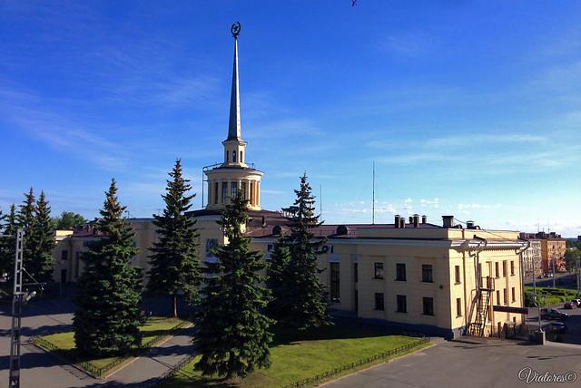 Вокзал Петрозаводска. Карелия