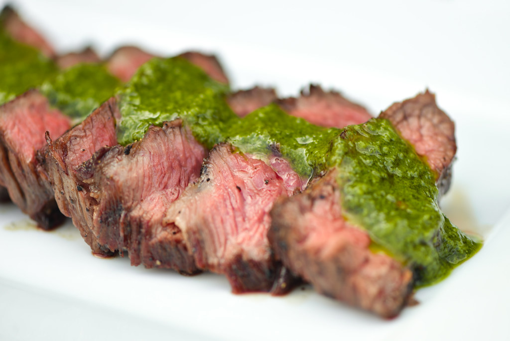 Grilled Short Ribs with Chimichurri Sauce Recipe