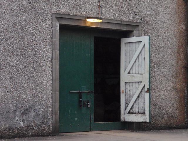 Warehouse at Glenglassaugh distillery