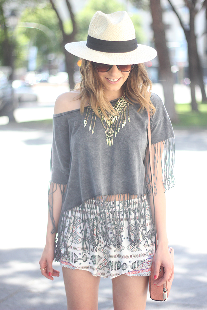 How To Wear Fringes Summer Outfit07