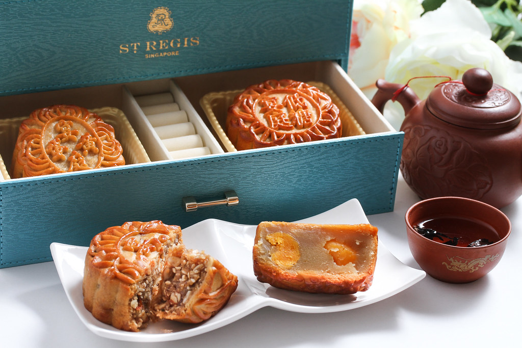 Mid-Autumn Festival Mooncake: The St. Regis Singapore