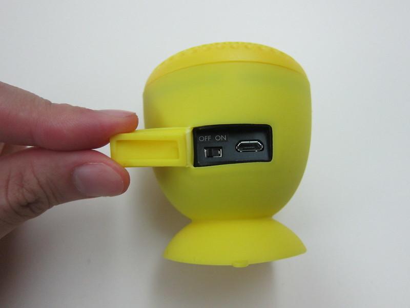 GoGear Splash n Dash Bluetooth Speaker - Back