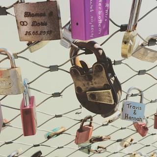 Where is the key? #Austria #iphone #salzburg #lock #bridge #lovers