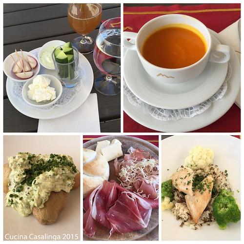 Goldener Berg Mittagessen