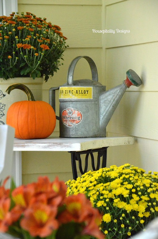 Fall Porch - 2015 Housepitality Designs