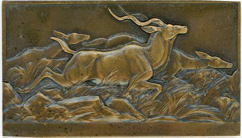 African Antelopes medal