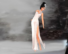 [VM] VERO MODERO / Creamy Angel Gown  Cream
