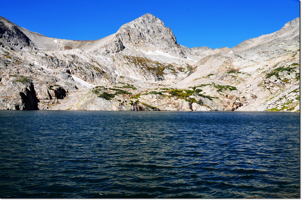 Blue Lake, background is Mount Toll 3
