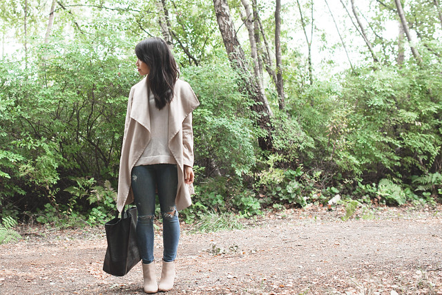 style blogger fall outfit