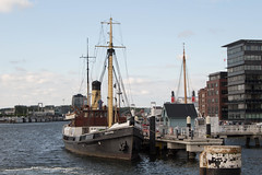 Dampfschiff Bussard in Kiel