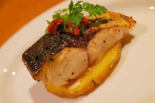 秋鯖のオーブン焼き 香草風味