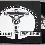 "PEKATRALATAK MORT AU PUNK / URBAN BLIGHT REVOLTE 12"" LP VINYL"