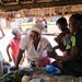 Busy morning at a market in Mpanshya, Zambia