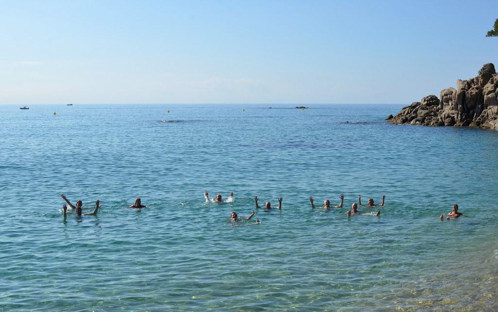 Göteborgare badar