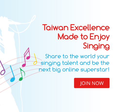 Made to Enjoy Singing Contest by Taiwan Excellence