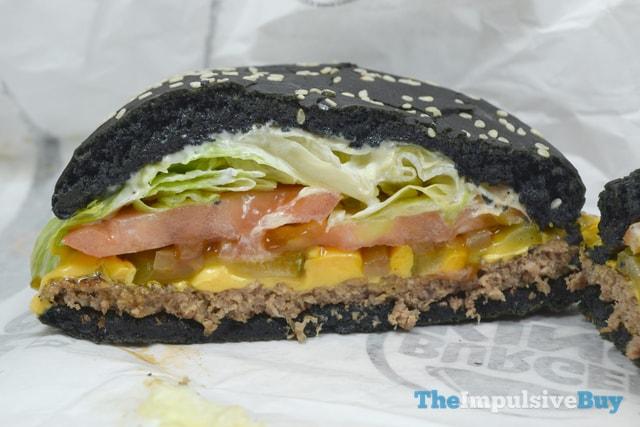 Burger King A.1. Halloween Whopper Half
