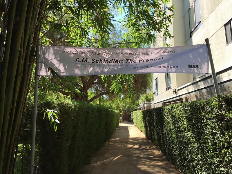 Schindler House Exhibition - R.M Schindler: The Prequel
