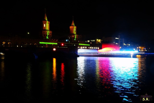 Festival of Lights Oberbaumbrücke 2015  61