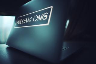 Custom Macbook Lid - WILLIAM ONG