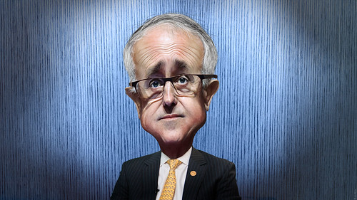 Malcolm Turnbull - Caricature