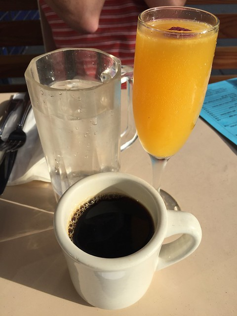 Coffee and mimosa - The Cove on Castro