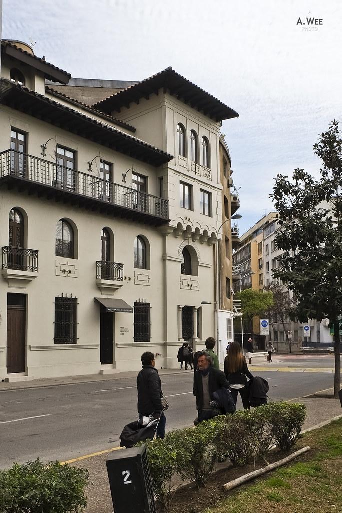 Exterior facade of the hotel