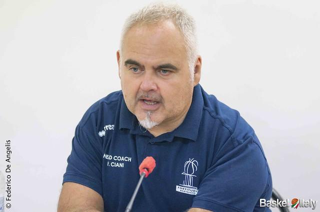 Moncada Agrigento, Coach Franco Ciani