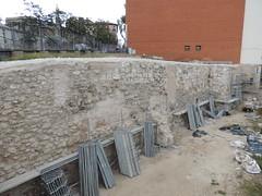 Malas prácticas en la Muralla Árabe de Madrid