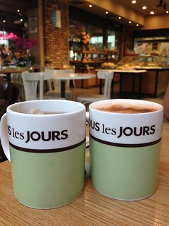Coffee and tea @ Tous le Jours, Empire Shopping Mall