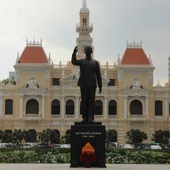 Ho Chi Minh Denkmal