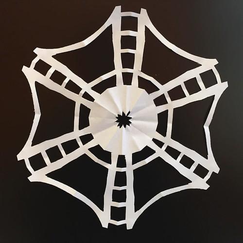 Paper snowflake Humber Bridge