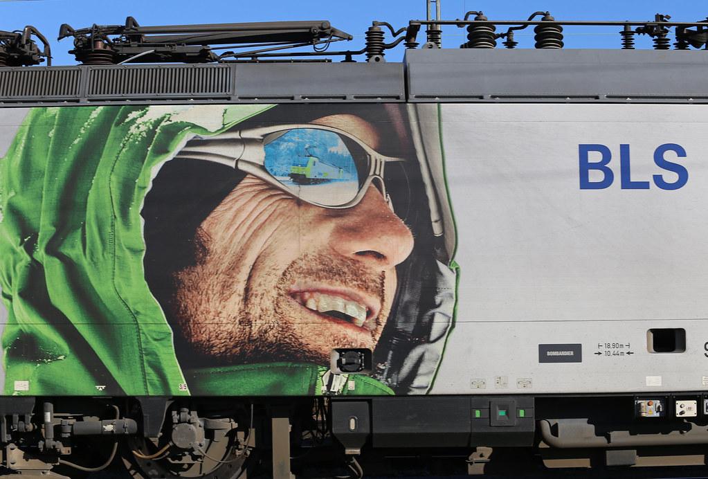 BLS Cargo 485 006 Die Alpinisten