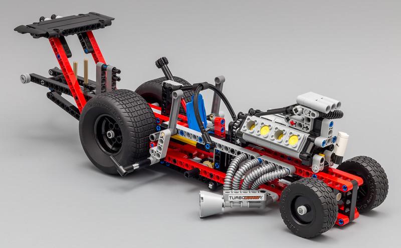 Review 42050 Drag Racer Lego Technic Mindstorms Model Team