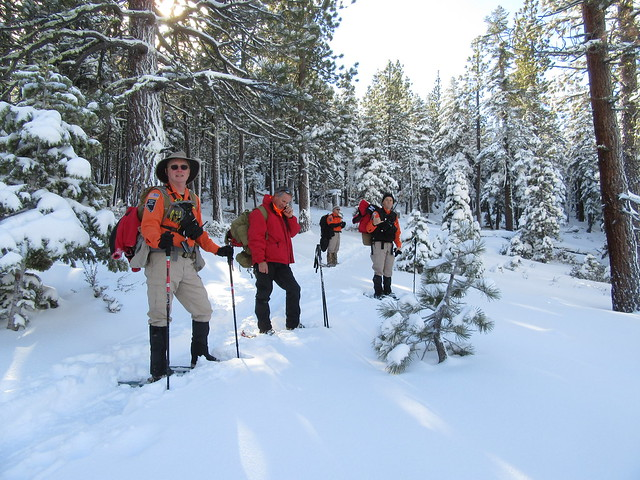 Snowshoeing Training