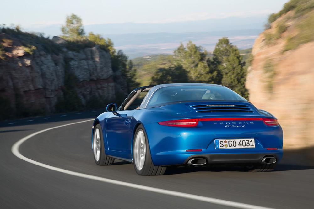 Porsche 911 Targa нового поколения