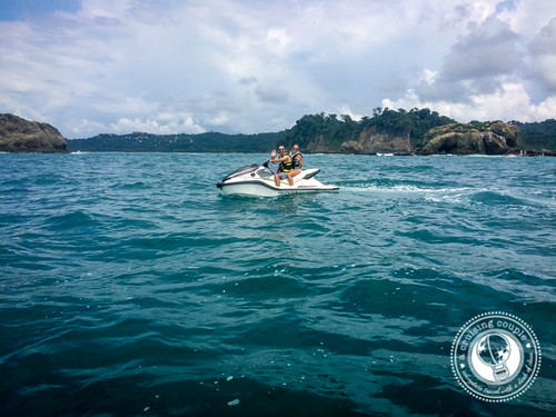 Jet Skiing in Costa Rica A Cruising Couple